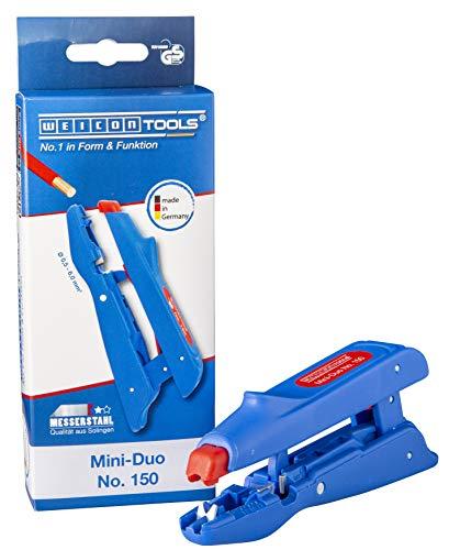Weicon 51000150 Mini-Duo No. 150 Pelador para Cable de 0,5-6,0 mm² con...