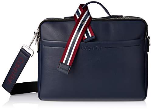 Calvin Klein FLEX TOP HANDLE LAPTOP BAGHombreShoppers y bolsos de hombroAzul (Navy) 7x28x36 centimeters (B x H x T)