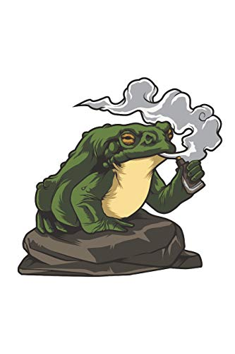 Vaping Toad: Blank Lined Notebook for Vaper and Steamer