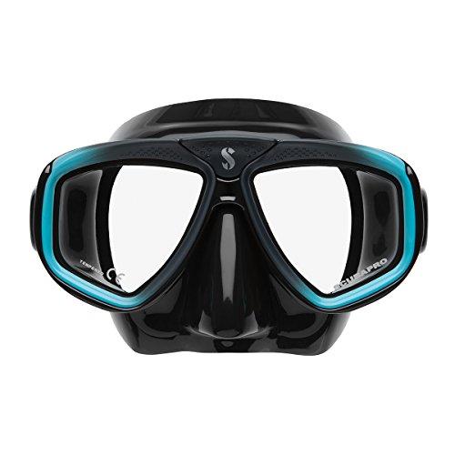 Scubapro Zoom EVO Tauchmaske , Farbe:schwarz/türkis