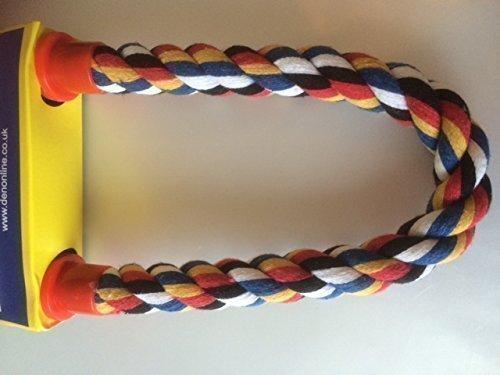 Lapwater Aquatics Perchoir en corde flexible avec fixations à double extrémité Multicolore 36cm