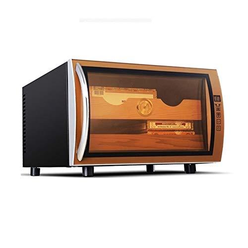 Humidor sigaren   Humidor voor Europese sigaren modern eenvoudige massief hout thermostaat / vochtinbrengend Cigar Cabinet wijnregulatie Een startknop, 360 ° luchtcirculatie systeem isolatie