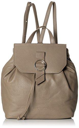Liebeskind Berlin Damen Backpackm Worldt Rucksackhandtasche, Braun (Cold Grey), 13x27x35 cm