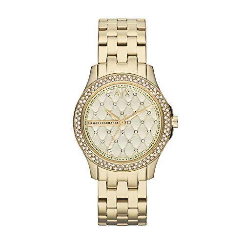 Armani Exchange Women's AX5216 Gold Watch