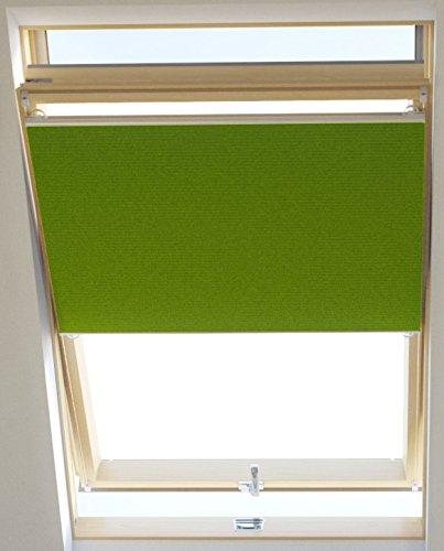 Vidella Dachfenster Thermoplissee thermolux universal passend 67 cm, grün, HCB-7 67