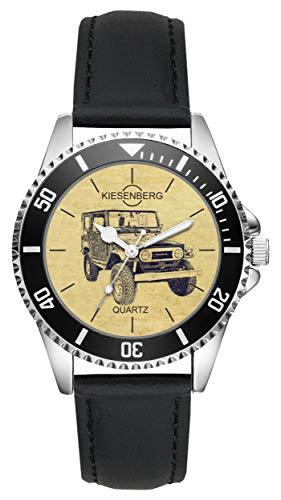 KIESENBERG Uhr - Geschenke für Toyota Land Cruiser BJ40 Oldtimer Fan L-6555
