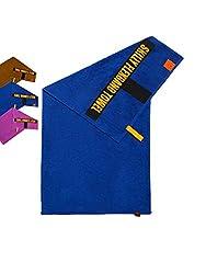 skilly FBT100S Fitnesshandtuch | Antirutschfunktion | 100X50cm | Gym Handtuch | Sporthandtuch aus 100% Baumwolle | Damen & Herren