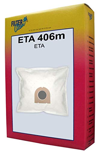 FilterClean Staubsaugerbeutel ETA 406m, Braun