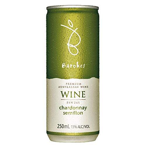 日本酒類販売 バロークス プレミアム缶ワイン 白 250ML 1缶