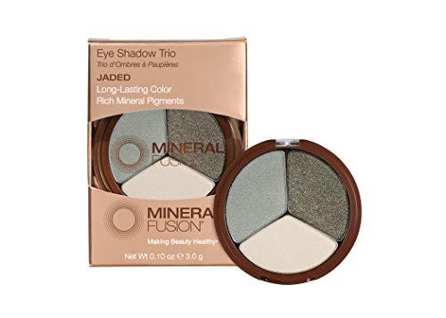 Mineral Fusion Eye Shadow Trio Jaded, 0.1 oz