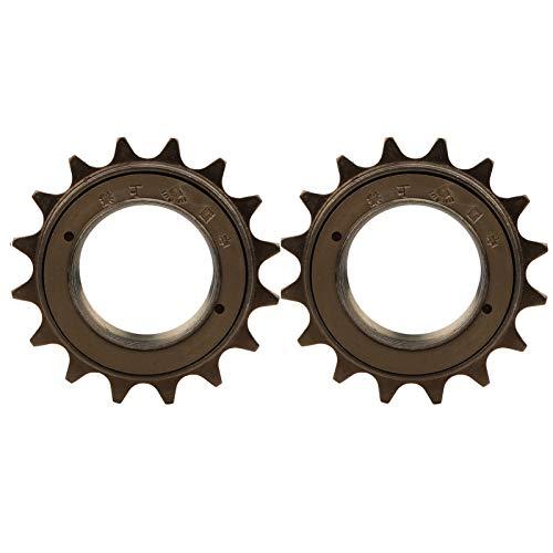Dilwe Fahrrad Freilauf, 2 Stück 16 Zähne Stahl Fahrrad Freilauf Fahrrad Elektromobil Upgrade Ersatzteil