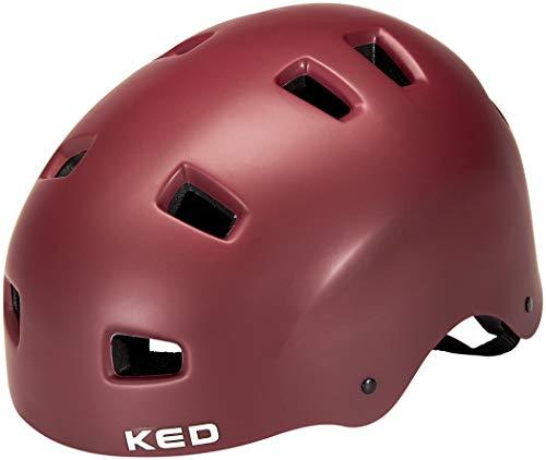 KED Citro Helm Merlot matt Kopfumfang M | 54-58cm 2021 Fahrradhelm
