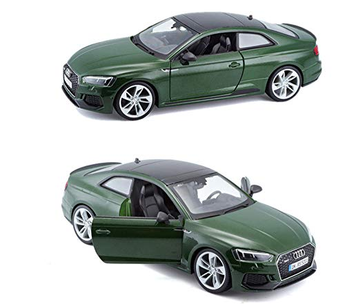 THKZH World Famous Car 1:24 Rs5 Coupé Car Die Casting Model Car Lega Modello di Auto Simulazione Decorazione Auto Collezione Regalo GiocattoloModello di Auto per Adulti