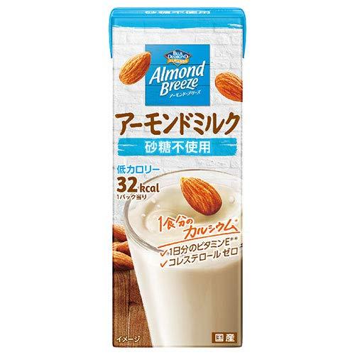 ブルーダイヤモンド アーモンド・ブリーズ 砂糖不使用 200ml紙パック×24本入×(2ケース)
