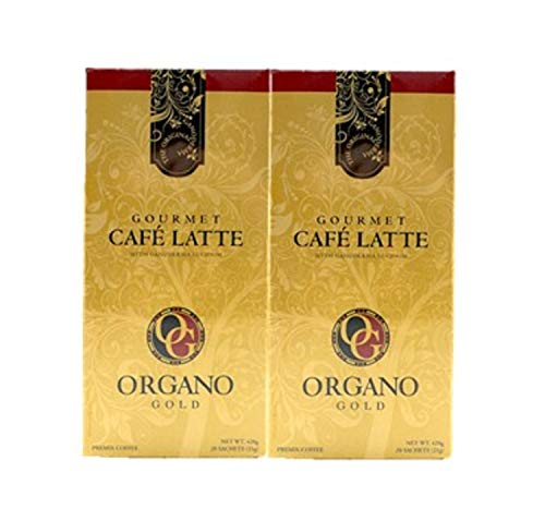 2 Boxes ORGANO GOLD Gourmet Cafe Latte (20 sachets per Box)