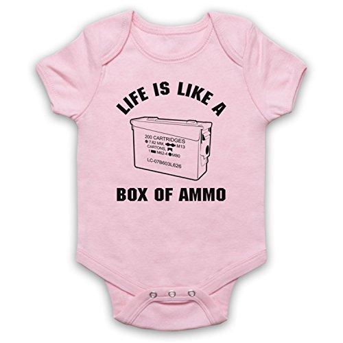 Mijn icoon kunst & kleding Nukem leven is als een doos met munitie Computer Game Slogan Baby Grow