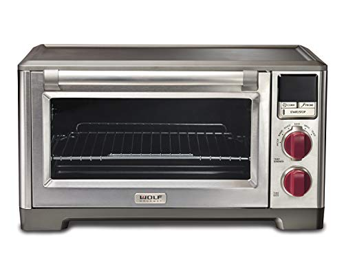 Wolf Gourmet WGCO100S Countertop Oven with Convection, Red