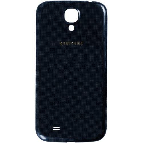 Original Samsung Akkudeckel für das Samsung i9500, i9505 Galaxy S4 (SIV) - blue / blau (Akkufachdeckel, Batterieabdeckung, Rückseite, Back-Cover) - GH98-26755C