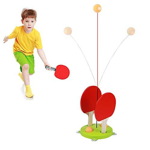 Entrenador tenis mesa eje blando elástico, juego