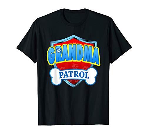 Funny Grandma Patrol - Dog Mom, Dad For Men Women T-Shirt