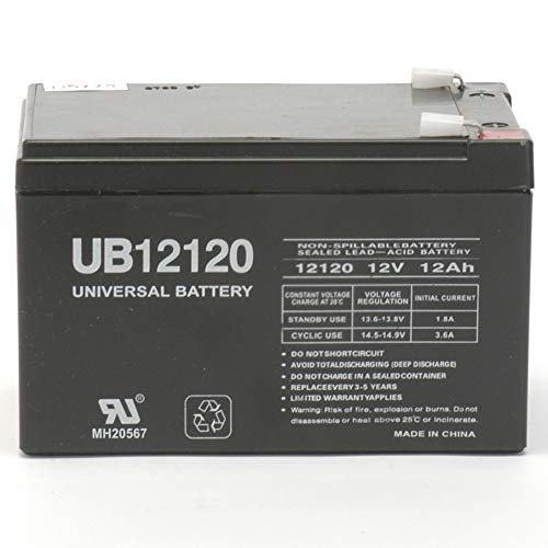 Universal Power Group UB12120 F2 Kid TRAX 12 Volt 12 AH Rechargeable Replacement Battery