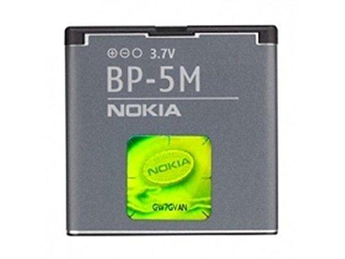 BATTERIA ORIGINALE NOKIA BP-5M per 6500 SLIDE, 7390, 8600 LUNA 900mAh LI-ION BULK SEGUE COMPATIBILITA'..