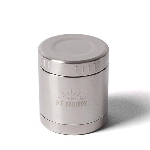 ECO Brotbox   LI   Isolierbehälter aus Edelstahl, auslaufsicher   300 ml