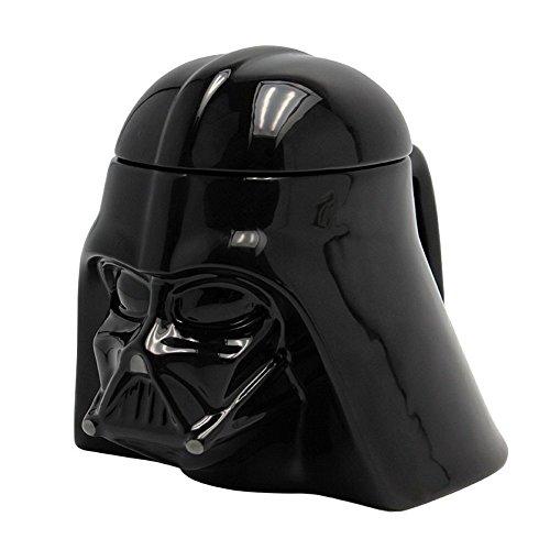 Star Wars - Taza de cerámica en 3D, diseño de Darth Vader