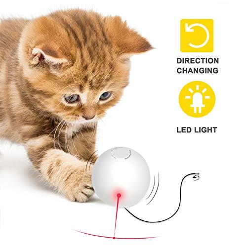 Pelota Juguete Gatos Inteligentes Automática Giratoria