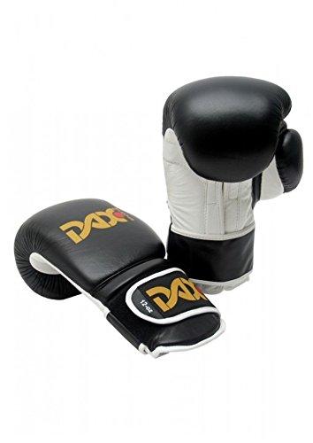 DAX Boxhandschuhe TT, Leder Schwarz 14 oz
