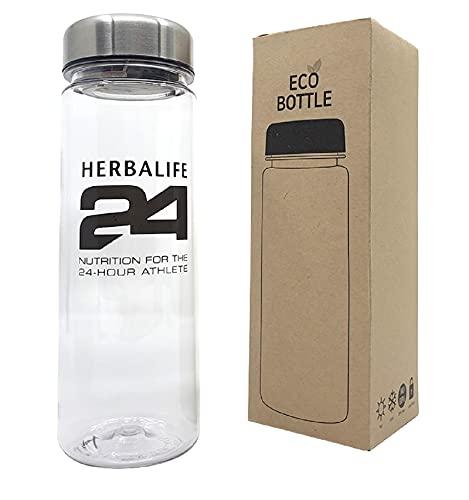 Herbalife Shaker Eco-Wasserflasche, 500 ml, BPA-frei, Kräutertee