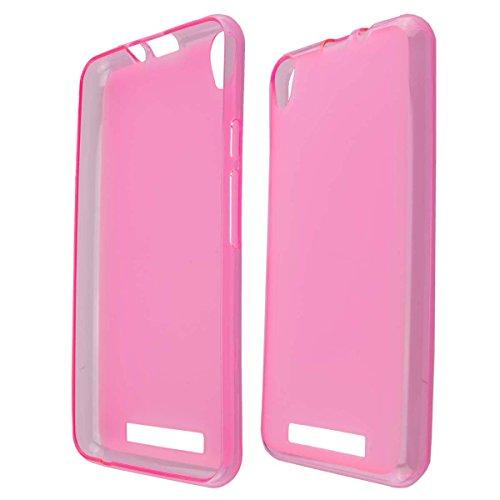 caseroxx TPU-Hülle für Archos Access 50 3G / 4G, Handy Hülle Tasche (TPU-Hülle in pink)