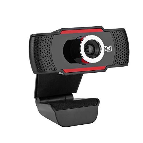 S80 Cámara Web , con Micrófono, Computadora Portátil PC Webcam de Escritorio USB 2.0 para Videollamadas, Estudios, Conferencias, Grabación, Juegos con Clip Giratorio, Plug and Play miniatura