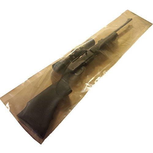 "TechnologyLK Zerust Anti-Corrosion Rifle Bag 10"" x 50"" Zipper Closure - Pack of 3"