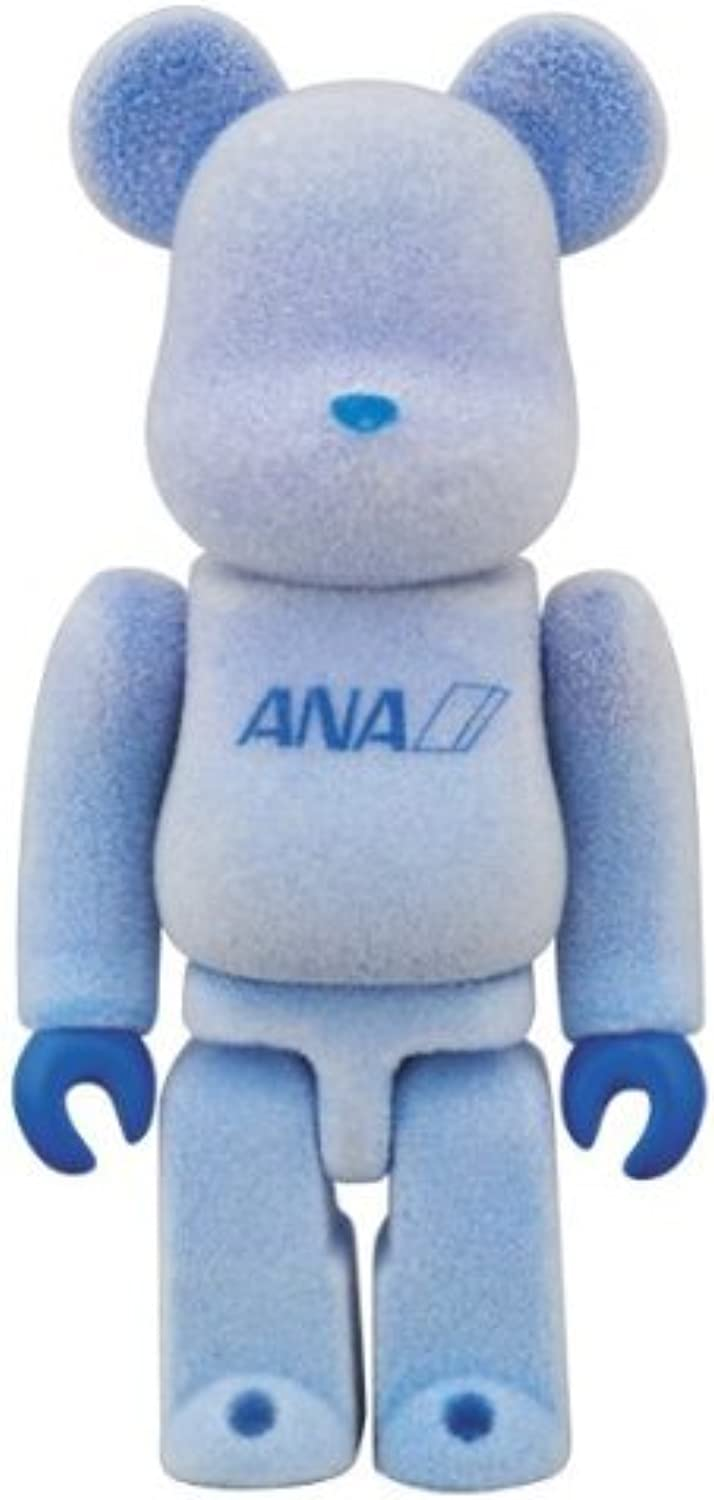 BE @ RBRICK Bearbrick x ANA All Nippon Airways Rocky ver 100% (Japan import   The package and the manual are written in Japanese)