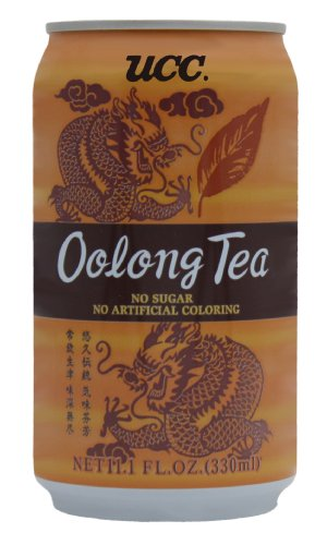 UCC Oolong Tea, 11.1-Ounce Cans (Pack of 24)