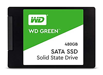 WD Green 480 GB Internal SSD 2.5 Inch SATA, Green-Performance