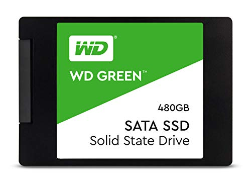 HD SSD 480GB Sata3 WD Western Digital 2, 5 - WDS480G2G0A