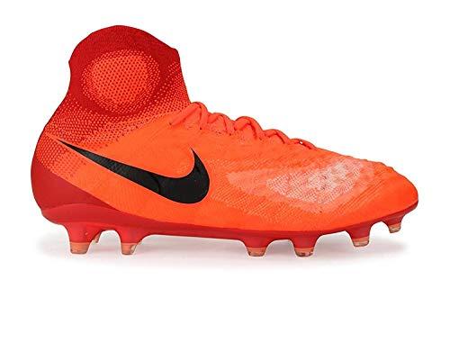 Nike Kids Magista Obra II FG Total Crimson/Black/University Red Soccer Shoes - 4Y