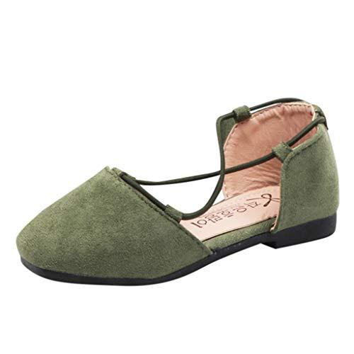 Zapatos De Princesa De Moda Para Niñas Correa Cruzada Zapatos Para Niños Pequeños Bebé Color...