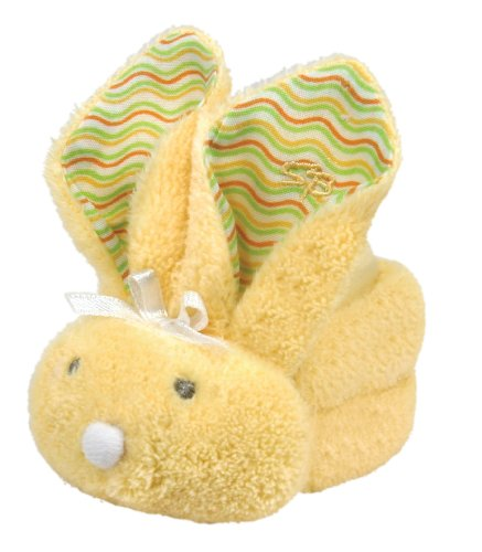 Stephan Baby Boo Bunnie Comfort Toy and Boo Cube, Yellow