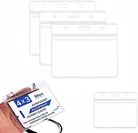 Card Protector 4 X excellence 3 in Chicago Mall Vaccine Record Immunization Cards Cover
