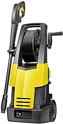 Car And Home Pressure Washer, 1900W 130Bar 370L/H Pressure Washer Electric Portable Lightweight Power Washer Patio Cleaner With Accessories dljyy from dljxx