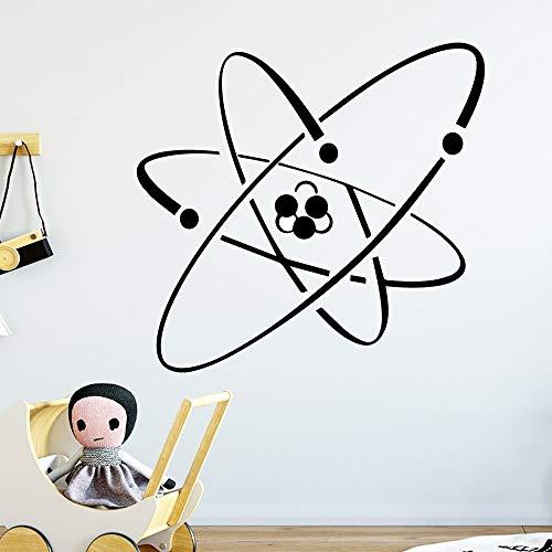 Etiqueta engomada de la decoración de la pared de la comunicación atómica linda etiqueta engomada de la decoración de la habitación del jardín de infantes etiqueta engomada de la pared A3 43x45cm