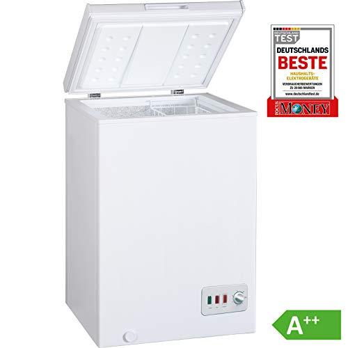 Bomann GT 357 Gefriertruhe / A++ / 85 cm Höhe / 131 kWh/Jahr / 100 L Gefrierteil / regelbarer Thermostat