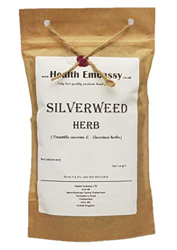 Health Embassy Gänsefingerkraut Tee (Potentilla Anserine L.) / Silverweed Herb Tea, 50g