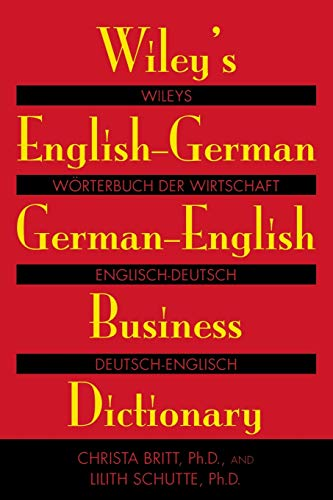 Wiley\'s English-German, German-English Business Dictionary