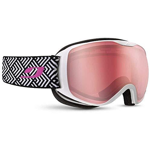 Julbo Pioneer Gafas de esquí, Mujer, Blanco, Medium