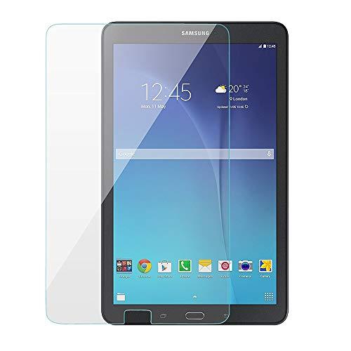 REY Pack 2X Panzerglas Schutzfolie für Samsung Galaxy TAB E 9,6