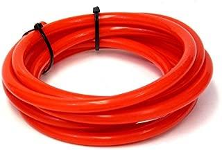 HPS HTSVH5-REDx5 Red 5' Length High Temperature Silicone Vacuum Tubing Hose (60 psi Maxium Pressure, 13/64
